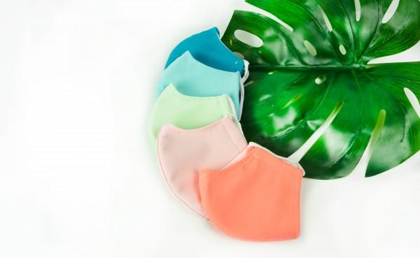 5er Set Mund- und Nasenmasken- Alle Farben (3 lagig inkl. Filter)